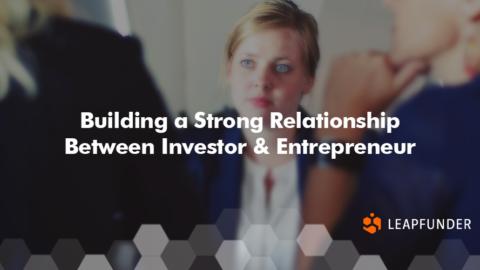 The entrepreneur-investor relationship