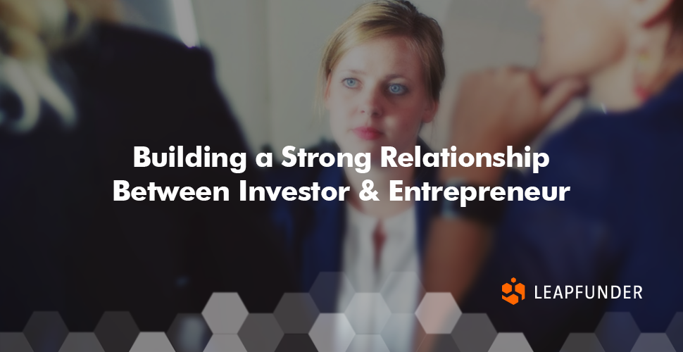 企业家 - 投资者关系