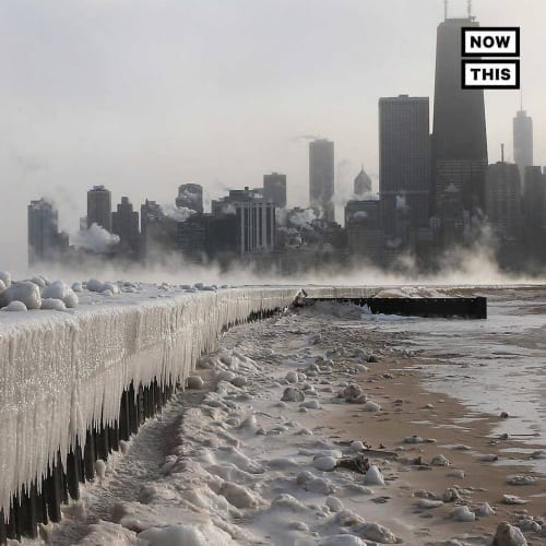 Vague de froid extrême Dans de nombreux États américains cette semaine, soyez conscient de cela