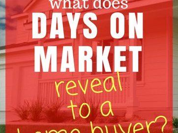 Sale Days - Days On Market