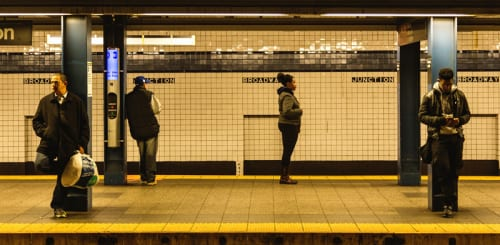 Effondrement du métro de New York