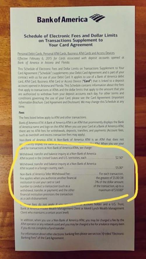"""משיכת כספים רכישה בישראל ע""""י כרטיס של בנק אוף אמריקה. קיבלתי את הכרטיס החדש…"""