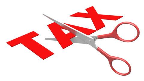 تخفيض الضرائب