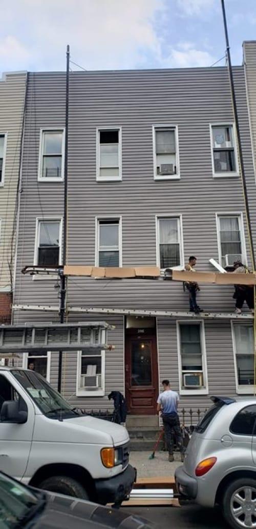 סיימנו לעשות שיפוץ 6 משפחות בברוקלין נו יורק
