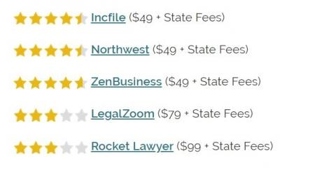 Opening LLC at 49 $ + state fee Members who have built and reviewed the opening prices of the LLC ...