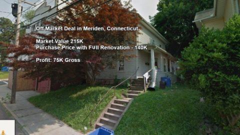 עסקת Off Market בעיר Meriden בקונטיקט מהות העסקה: רכישת דופלקס של 2 יחידות ב…