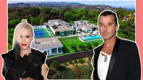 זה רוקר לשעבר זוג עדיין מנסה להתפצל עם האחוזה שלהם LA רוקרס גוון סטפני…
