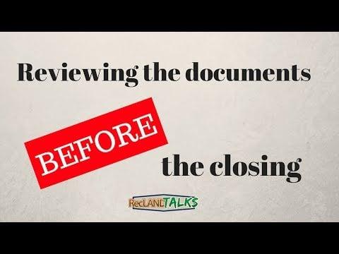 برای بررسی در بسته شدن مدارک چه چیزی مهم است؟