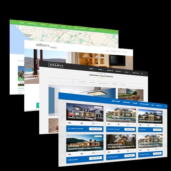 Construire un site web immobilier - Exemple 1