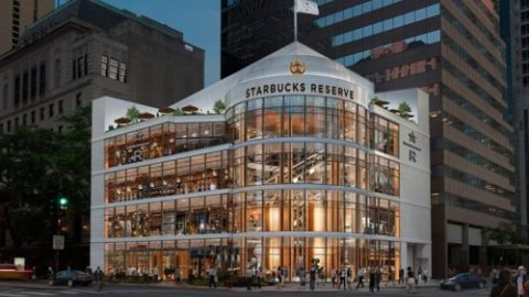 # ** Chicago Investors! crazy! Coming soon in Chicago: The world's largest Starbucks branch! ** International coffee shop chain…