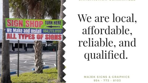 We can customize property signage for commercial real estate, private property, ...
