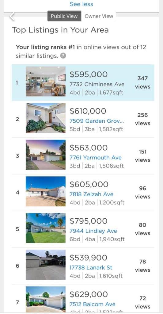 הבית שלנו עלה למכירה בלוס אנגל'ס. מה אתם חושבים?