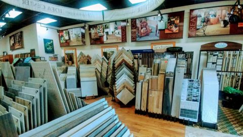 A carpet, tile and cabinets business has been set up for sale. (Fort St. Luke ...