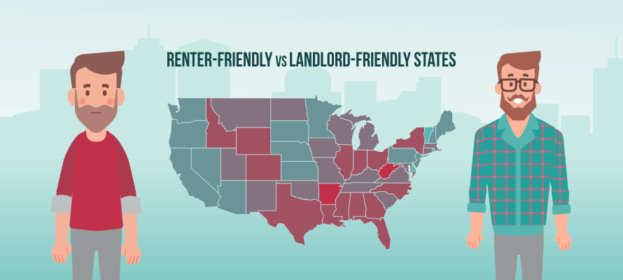Which States Have the Best and Worst Laws for Renters? - RENTCafé rental blog