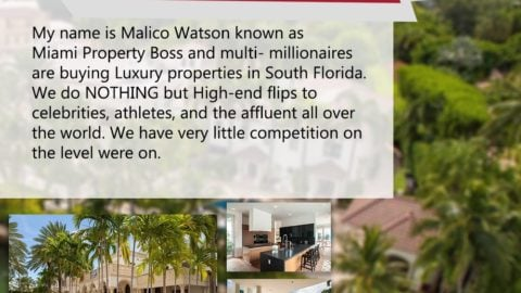 Prestigious Flipper who is looking for a partner to name my name Maliko Watson ...