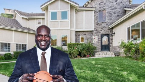 Looking for a home in Los Angeles? Shaquille O'Neill sells the West Hills property. Past basketball ...