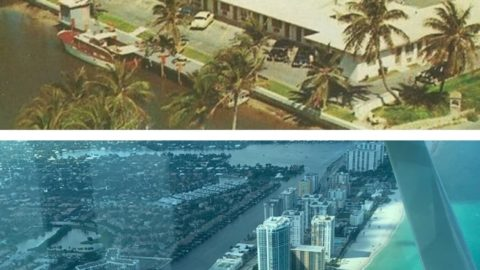 Sunny Isles then and today