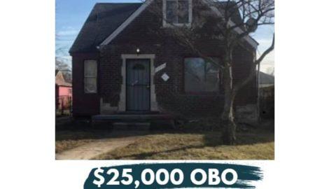 """Linnhurst St, Detroit, MI 48205 3 חדרי שינה 2 אמבטיה 1063 מ""""ר -Mapleridge Neig ..."""