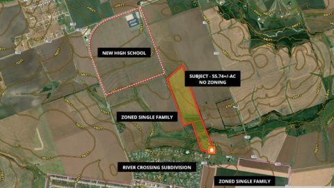 Sold! Land development slowed a great opportunity in developing 55.74 +/- AC in Hutu ...