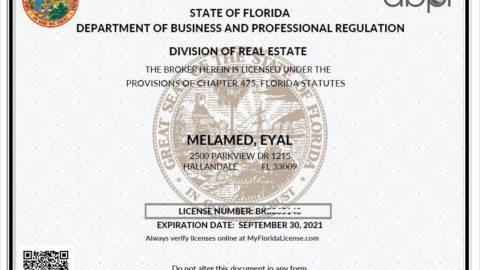 Nueva licencia de corredor de nylon. Para aquellos que no están familiarizados con las diferencias, cada agente de Florida que pasa por ...