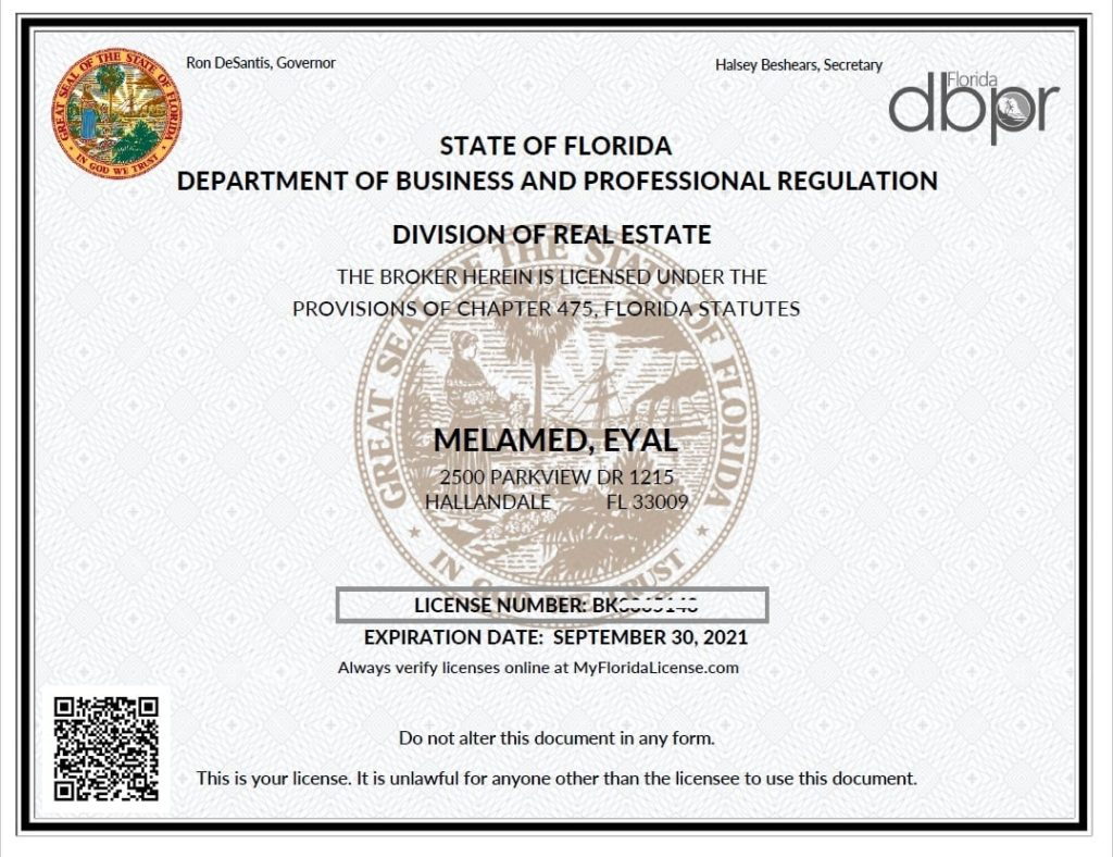 Neue Maklerlizenz von Nylon. Für diejenigen, die mit den Unterschieden nicht vertraut sind, jeder Florida-Agent, der durchläuft ...