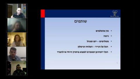 דוגמית ממפגש מנטורמיינד מספר 3 - טל לוי - Tal Levi - יזמות בנדל'ן והצלחה - ...