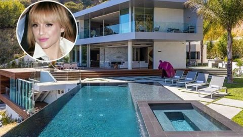 你住在那里吗? 布列塔尼·墨菲(Brittany Murphy)和她的丈夫精神不振的房子...