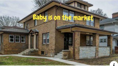 פרוייקט של 8 חודשים הסתיים בבית מהמם - Baby is on the market!במהלך הפליפ ביקרתי ...