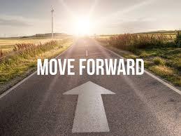 If you're not moving forward, you're drifting backward כשאנחנו יושבים ...