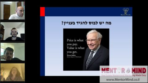 Mentormind April 2020 - Tal Levy - Base - Real Estate Entrepreneurship and Success - Experience Makes a Difference
