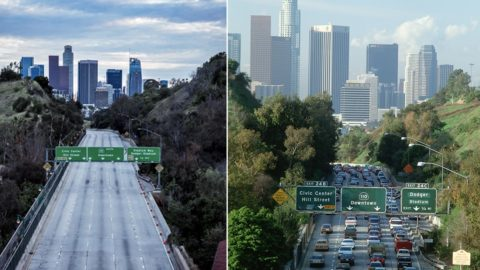 Corona effect: Los Angeles has experienced the cleanest air in 40 years! There are also rows ...
