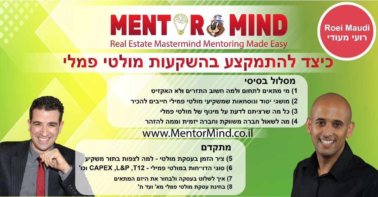 Roei Maudi Mentormind-Roi Maudi Mentormind Banner Multi Family-Multi Femmi-FInal New Title