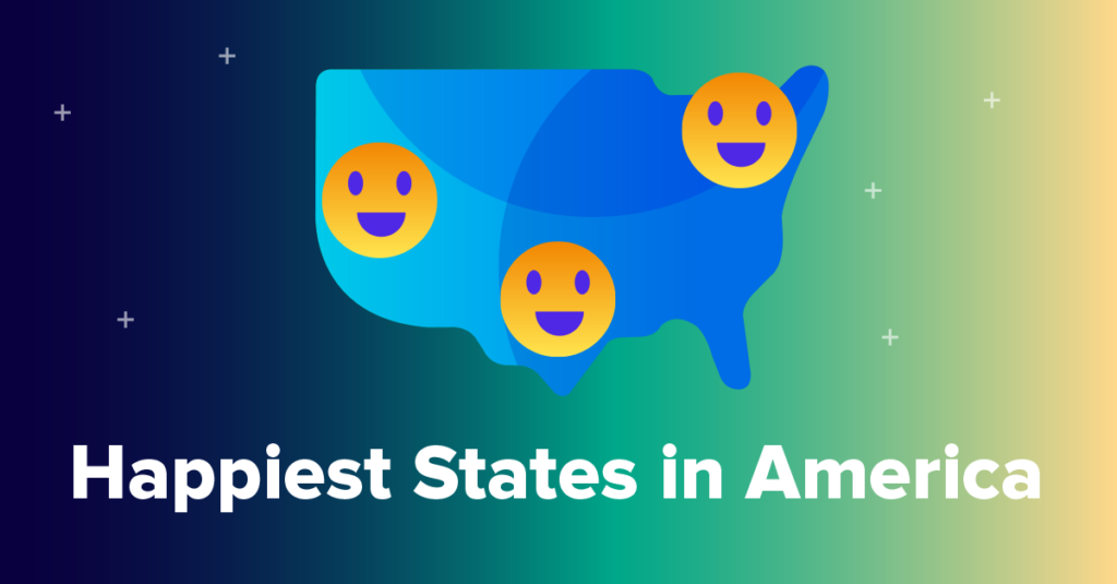 2020's Happiest States in America